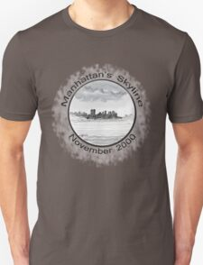 New York City skyline in November 2000 from the Staten Island Ferry.* T-Shirt