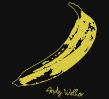 Retro Velvet Underground Andy Warhol Banana Rock Black T Shirt Sz S M L XL by beardburger