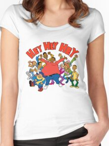 Fat Albert and the Cosby Kids Women's Fitted Scoop T-Shirt