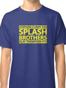 SPLASH BROTHERS (#11 and #30) Classic T-Shirt