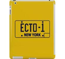 Ecto 1 Plate iPad Case/Skin