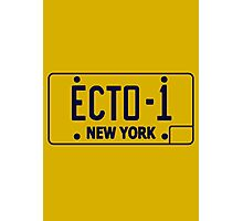 Ecto 1 Plate Photographic Print