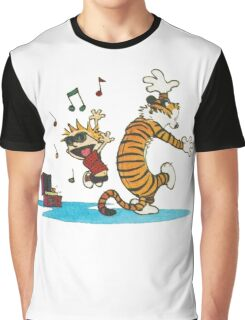 Calvin Hobbes T-Shirt Graphic T-Shirt