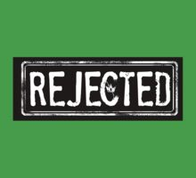 """REJECTED"" t-shirt Kids Tee"