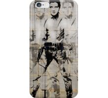 elvis (after andy) iPhone Case/Skin