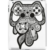 Games Console Zentangle BLACK & WHITE iPad Case/Skin