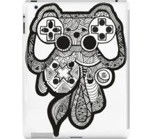 Games Console Zentangle BLACK & WHITE iPad Case/Skin