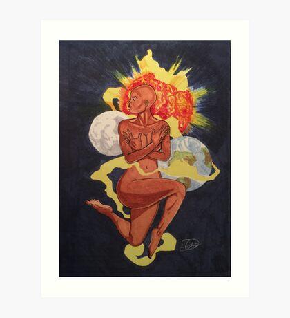 Divine Mother Art Print