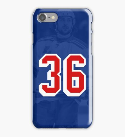 Mats Zuccarello - #36 New York Rangers Phone Case iPhone Case/Skin