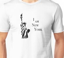 I Am New York Statue of Liberty New York Stand Tall Design Unisex T-Shirt