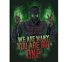 Ermac Photographic Print