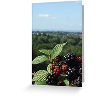 bramble view Greeting Card