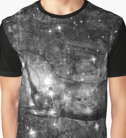 When The Stars Are Right - V838 Monocerotis in Monoceros (black & white version) Graphic T-Shirt