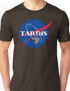 Tardis NASA T Shirt Parody Dr Dalek Who Doctor Space Time BBC Tenth Police Box Unisex T-Shirt