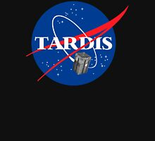 Tardis NASA T Shirt Parody Dr Dalek Who Doctor Space Time BBC Tenth Police Box T-Shirt
