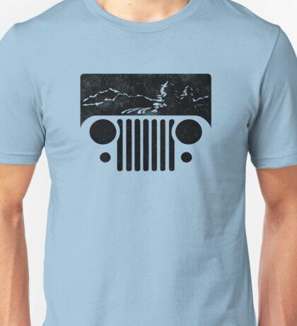 Adventuring CJ Jeep Unisex T-Shirt