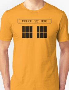 THE BLUE BOX T Shirt Doctor Doc Dalek BBC Bow Tie TV Tenth Eleventh Who Police T-Shirt