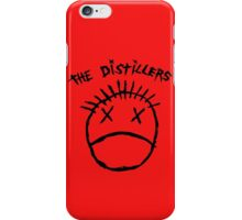 The Distillers Punk Rock Black T Shirt Sz S M L XL 2XL iPhone Case/Skin