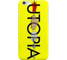 Utopia - Utopia title iPhone Case/Skin