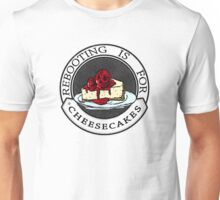 Rebooting Is for Cheescakes (Oklahomo Sherlock spoof video) Unisex T-Shirt
