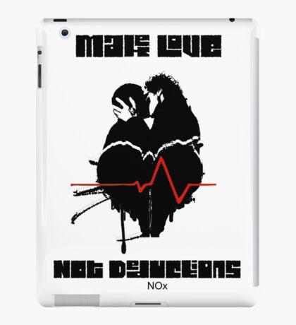 Make Love Not Deductions iPad Case/Skin