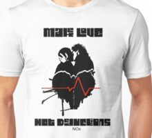 Make Love Not Deductions Unisex T-Shirt