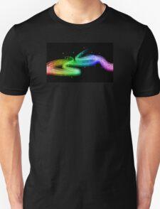Colour flow Unisex T-Shirt