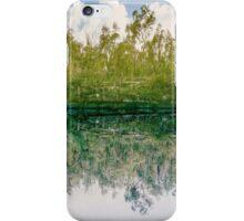 green reflex iPhone Case/Skin