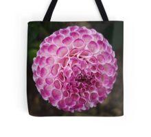 Lilac Pompom Dahlia at Harmony Garden Tote Bag