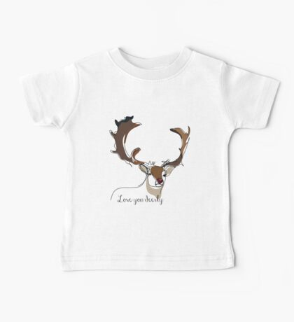 Deerly Baby Tee