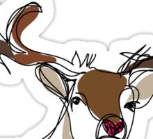 Deerly Sticker
