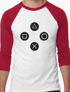 Video game T-Shirt funny t shirt ps3 cool tshirt gamer t shirt xbox ps4 nintendo (also available on crewneck sweatshirts and hoodies) SM-5XL Men's Baseball ¾ T-Shirt