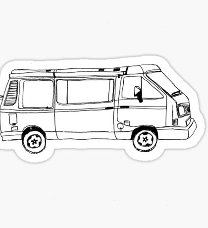 Volkswagen Surf Van Sticker