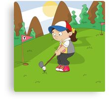 Non Olympic Sports: Golf Canvas Print