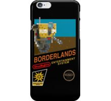 Borderlands 8-Bit NES Cover iPhone Case/Skin