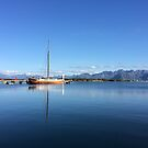 Boat in blue by julie08