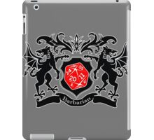 Coat of Arms - Barbarian iPad Case/Skin