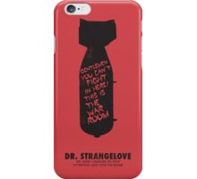 Dr. Strangelove minimalist movie poster iPhone Case/Skin