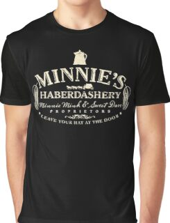 Minnies Haberdashery retro hateful fashion western Graphic T-Shirt