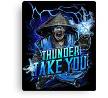 Thunder God Canvas Print