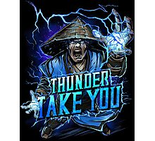 Thunder God Photographic Print