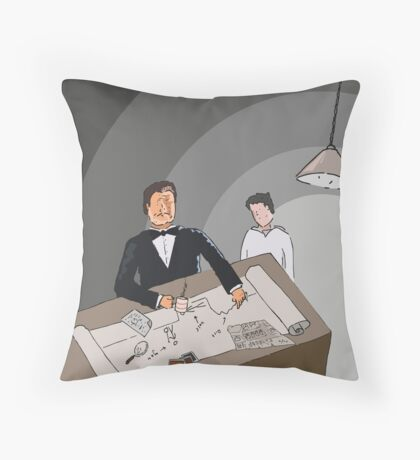 How To Hide Your Evidence  Throw Pillow