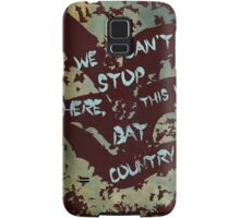 Fear and Loathing in Las Vegas movie poster no 3 Samsung Galaxy Case/Skin