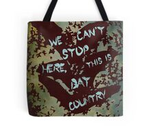 Fear and Loathing in Las Vegas movie poster no 3 Tote Bag