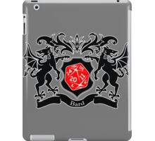 Coat of Arms - Bard iPad Case/Skin