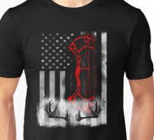 Deer Hunting Flag T-shirt Unisex T-Shirt
