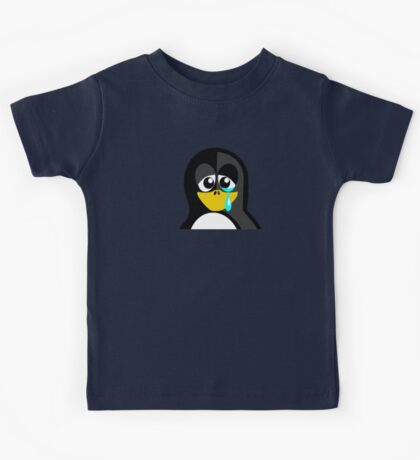 Crying Penguin  Kids Tee