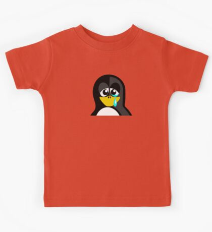 Crying Penguin  Kids Tee