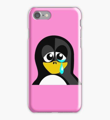 Crying Penguin  iPhone Case/Skin