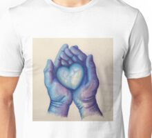 Blue Like My Hands, Blue Like My Heart Unisex T-Shirt